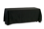 "Table Cover (86"" x 152"") Black"