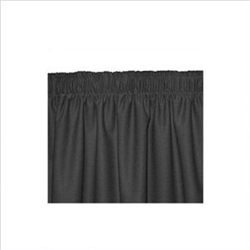 Stage Skirting, 16 ft. Poly/Cotton