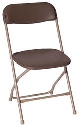 Standard Folding Chairs (Brown)