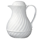Beverage Server 40 oz. (White Swirl)
